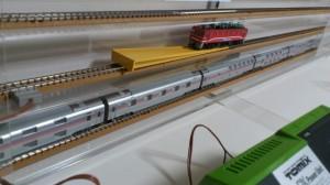 「ED7678(サザンクロス塗装)」入線中~
